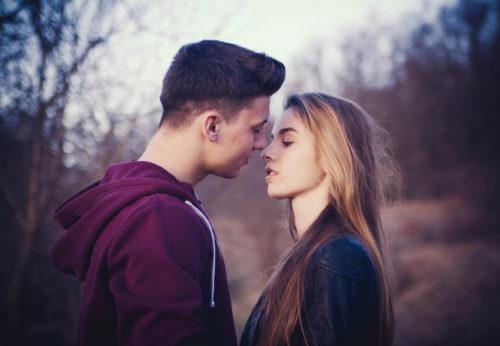 彼氏キスしたい