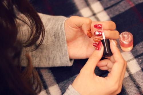 モテる女は赤で演出する!赤フレンチネイルのデザインとやり方16選♡