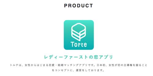 マッチングアプリおすすめランキング_トルテは女性主導のアプリ