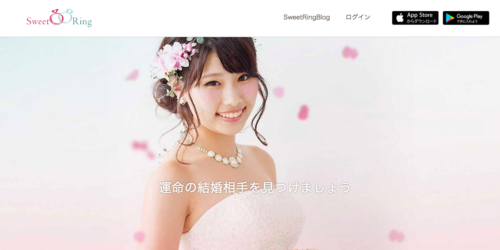 マッチングアプリおすすめランキング_SweetRing
