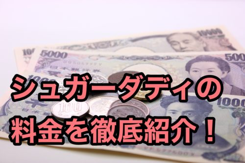 シュガーダディ評判口コミ料金