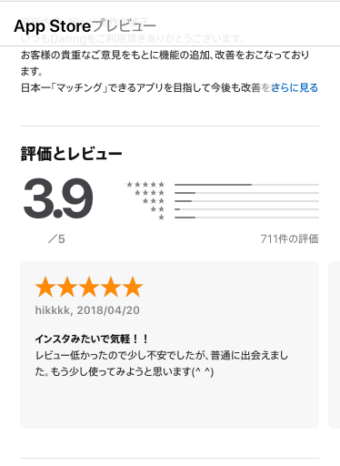 Datingアプリ評判_口コミと評価を紹介